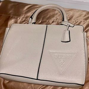 GUESS sparkly grey purse